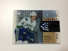 2015-16 upper deck ice hockey J.McCann fresh threads 09/10