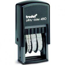 TRODAT Printy 4810 bilancio MINI Dater Timbro Auto-Inchiostrazione-BLACK INK