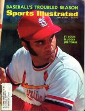 April 10, 1972 Joe Torre St. Louis Cardinals Sports Illustrated