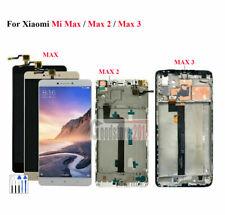 For Xiaomi Mi Max Max 2 Max 3 LCD Display Touch Screen Digitizer Frame Max2 Max3