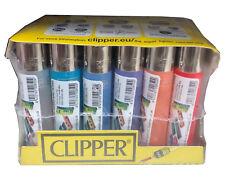 24pk Clipper Lighters Genuine Original Standard Size
