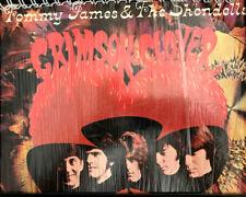 for the Crimson and Clover -Tommy James SHONDELLs FAN VINYL Album Cover Notebook