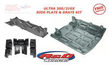 Kawasaki ULTRA 300 310X R&D Ride Plate Aquavein Intake Grate Pump Seal ADD 6+MPH