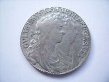 More details for willian and mary 1689 silver half crown