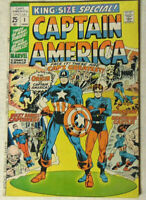 Captain America King-Size Special #1 VG 1971 Marvel Comics Origin Issue