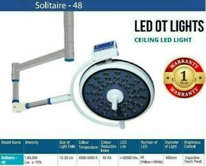Solitaire 48 Operation Theater Lights Common Arm Examination LED Light Solitaire