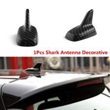 Car Exterior Decoration Trim Carbon Fiber Shark Fin Antenna Top Roof Mounted