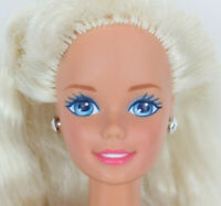 Vintage 1966 Mattel Barbie Doll Vinyl Blonde Hair Blue Eyes Nude Antique Rare