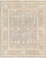 "Hand-knotted Carpet 8'0"" x 10'0"" Royal Ushak Traditional Wool Rug"