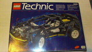 VINTAGE LEGO TECHNIC 8880 SUPER CAR / F1 COMPLET BOITE ET NOTICE TBE IDEAL NOEL