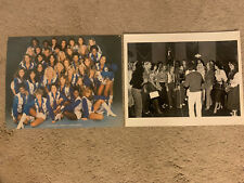 1978 Dallas COWBOYS CHEERLEADERS PICTURE 8.5X11 VINTAGE W/ RARE Recording Photo