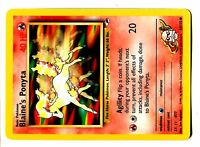 Carte Pokemon BLAINE/'S RHYHORN 65//132 Gym Challenge Wizard EDITION 1 NEUF