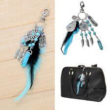 Dream Catcher Feather Handbag Pendant Keychain Charm Bag Key Ring Key Chain Gift