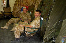More details for british army - military - mod - folding canvas chair -  current issue - new