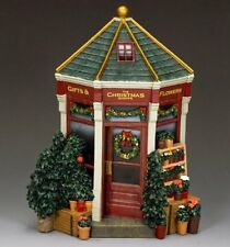 King & Country WoD019 The Christmas Store World of Dickens Mini Diorama Building