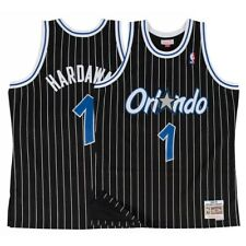 1d4ca79e164 Mitchell & Ness Black Orlando Magic Anfernee Hardaway Swingman Jersey M