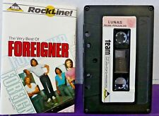 FOREIGNER Very Best RARE Cassette Tape INDONESIA + Lyric Booklet