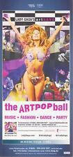 LADY GAGA - artpop ball - Flyer