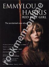 Emmylou Harris Red Dirt Girl LP Advert