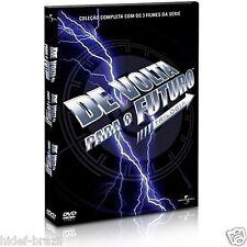 DVD Box Back to the Future Trilogy [ English + Portuguese ] Region 4