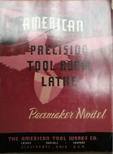 1941 American Tool Works Pacemaker Lathe Radials Shapers Brochure 10