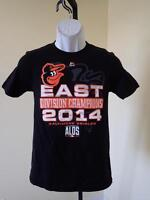 New Minor Flaw Baltimore Orioles 2014 AL Champs Youth Sizes S-M-L-XL Shirt