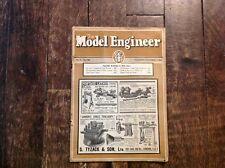 VTG NOV 17, 1938 INDUSTRIAL MODEL ENGINEER MAGAZINE 8X11 25 PAGE PUBLICATION