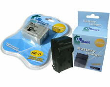 Battery+Charger Canon Camera NB-7L CB-2LZ CB-2LZE PowerShot G10 G11 G12 SX30 IS~
