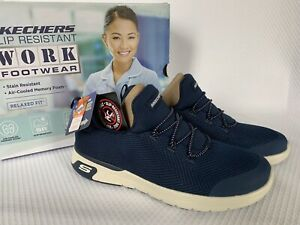NIB Skechers Women's Work Relaxed Fit Marsing Shoes 🌺 Size 8