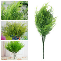 7 Branches Artificial Asparagus Fern Grass Plant Flower Home Floral Decor FE