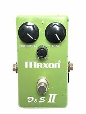 Maxon D&S II, Distortion Sustainer, Fuzz V1, Original, Made In Japan, Late 70's