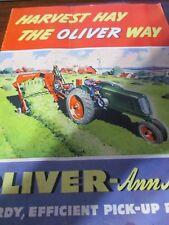Oliver-Ann Arbor Pickup Balers Sales Brochure 1944