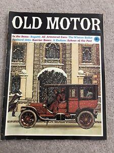Old Motor magazine December 1966 featuring Bugatti Type 13