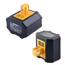 2-Pack 24V 3.0AH Ni-Mh Battery for Panasonic EY9210B EY9240 24 Volt Hammer Drill