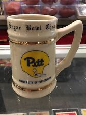 1977 Sugar Bowl Champions Pitt University Of Pittsburgh #1 Mug Stein
