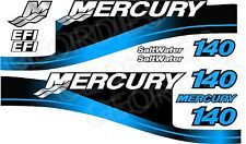 Blue MERCURY 140 motore fuoribordo quattro tempi MOTORE KIT ADESIVI DECAL