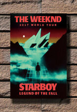 The Weeknd 2017 World Tour Starboy Music 30 24x36 Art Poster 6907