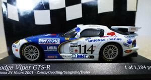 1/43 Minichamps PMA 2001 Dodge Viper Daytona 24h #114. Ltd Ed 1/1104 pieces.