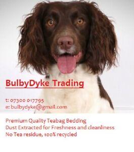 Teabag bedding paper, pet bedding, kennel bedding, whelping box bedding, vet bed