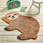 Sloth Childrens Bedroom Rug   Nursery Playroom Animal Home Decoration Gift