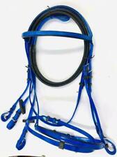 New listing Biothane Synthetic Royal Blue Bridle & Reins Endurance Full/Cob