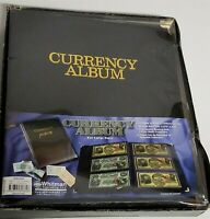 New Whitman Currency Album for Large Notes ~ 12 Pgs/72 Notes Paper Money Albums
