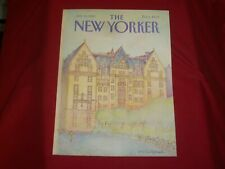 1982 JULY 12 NEW YORKER MAGAZINE FRONT COVER ONLY - GREAT ART FOR FRAMING
