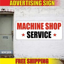 Service Advertising Banner Vinyl Sign Flag Repair Auto Mechanic Machine Shop Car