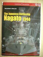 THE JAPANESE BATTLESHIP NAGATO 1944 KAGERO TOPDRAWINGS 90