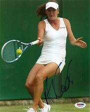Agnieszka Radwanska Poland Tennis Signed Auto 8x10 PHOTO PSA/DNA COA