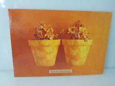 POSTKARTE Anne Geddes A346 Kinder in Blumentöpfen mit Blumen auf Kopf (26) NEU