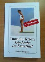 Die Liebe im Ernstfall - Daniela Krien (2020, Taschenbuch)  (Ungelesen)