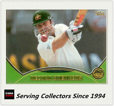 2001-02 Topps Gold Cricket Cards Record Breakers Card R9 Aus. VS New Zealand