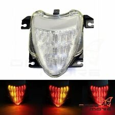 Clear LED Tail Light Brake Turn Signals For 2006-2009 Suzuki Boulevard M109R
